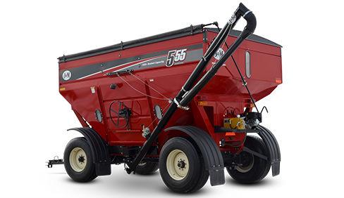 J M Manufacturing 555 Gravity Wagon Kleiber Tractor Equipment