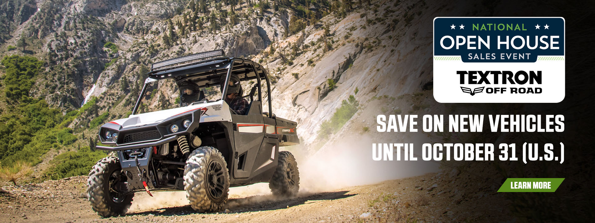 Textron Off Road: National Open House Sales Event