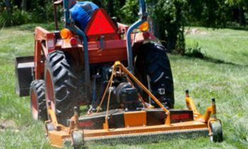 Woods Grounds Keeping Equipment » Kleiber Tractor and