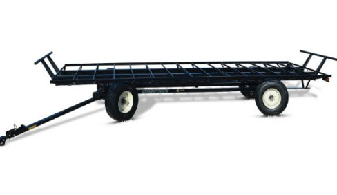 J&M Manufacturing Utility Hay Wagon » Kleiber Tractor and